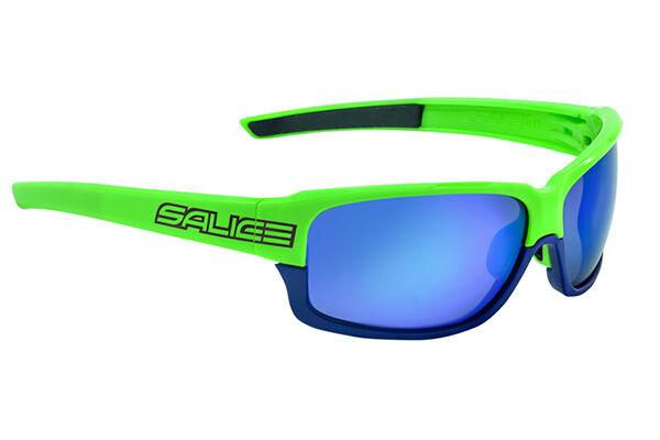 GLASSES SALICE Mod.017RW GREEN-blueE Lens blue GLASSES 017RW
