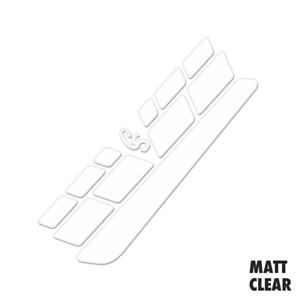 Texturiert Matt Klar Vinyl Kette Stay /& Rahmen Schutz Set Schutz Film