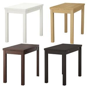 ikea bjursta ausziehbarer tisch esstisch k chentisch ebay. Black Bedroom Furniture Sets. Home Design Ideas