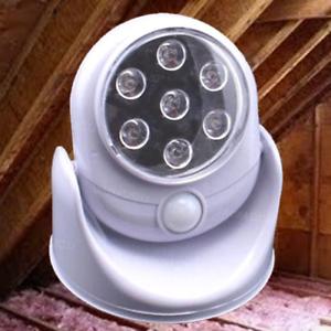 Attic Squirrel Repellent The Fright Light Motion Sensor