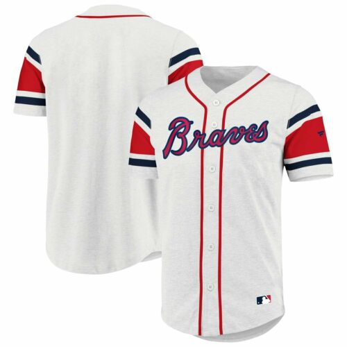 Iconic Supporters Cotton Jersey Shirt Atlanta Braves