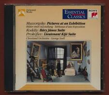 Mussorgsky. Szell. Pictures at an Exhibition, Kodaly. Prokofiev.  CD st2.126