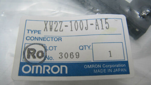 Omron Servo Relay Unit Cable XW2Z-100J-A15 NEW
