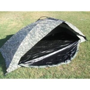 ORC-Improved-Combat-Shelter-ICS-One-Man-Tent-ACU-USED-U-S-Military-issued
