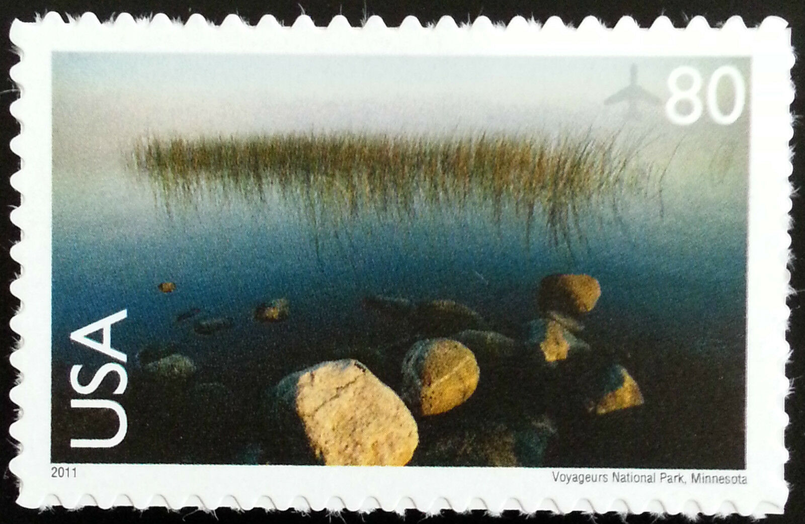 2011 80c Voyageurs National Park, Minnesota Scott C148