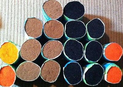 """2 Lb Bucilla 4"""" Precut Delux Quality Rug Yarn 60% Pure Wool 40% Nylon Moth Proof"""