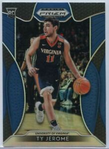 Ty Jerome Rookie Card #24 Blue Prizm Draft Picks Basketball 2019 Virginia CAVS