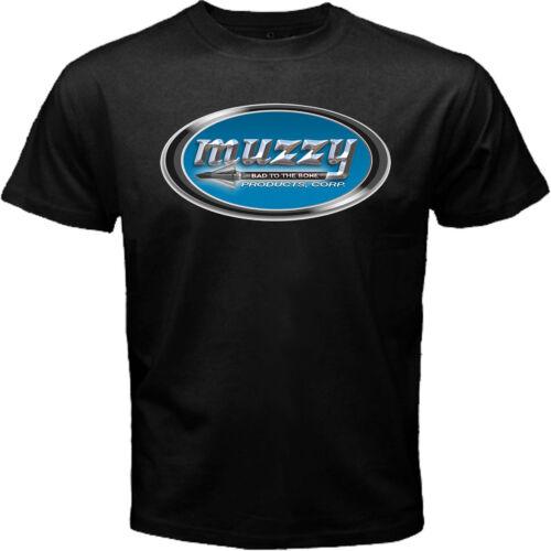 Muzzy Broad Head Arrow Crossbow Hunting Fishing Archery Black T-shirt Size S-5XL