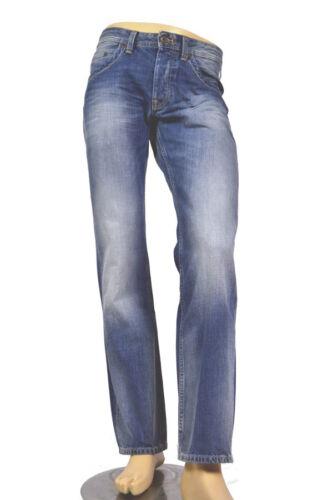 PEPE Jeans Jeanius mezzi BLU n56 Comfort Fit 100/% COTONE fissa 13oz Denim