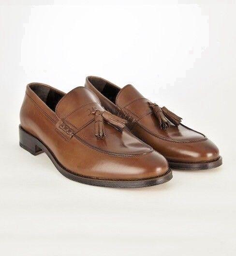 John Blanco Tassle Style Charles Tan Tassle Blanco Loafers  189.95 73222e