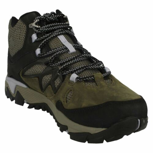 Gtx Walking Out Mid Leather All green Boots Merrell Ladies Blaze Dark Olive 2 XnqvYO6x