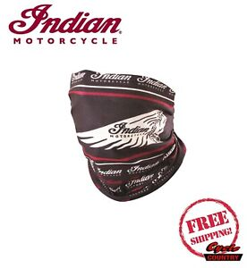 Genuine Indian Motorcycle Unisex Multifunctional Headwrap Face Mask Neck Tube B Ebay