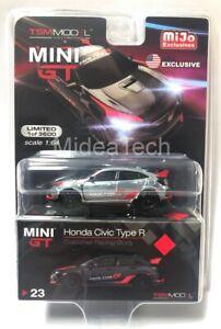 Mini-GT-1-64-2017-Honda-Civic-Type-R-FK8-Customer-Racing-Chase-Car-MGT00023
