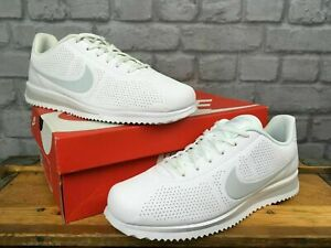 NIKE-MENS-CORTEZ-ULTRA-MIOIRE-WHITE-PURE-PLATINUM-TRAINERS-VARIOUS-SIZES-RRP-75