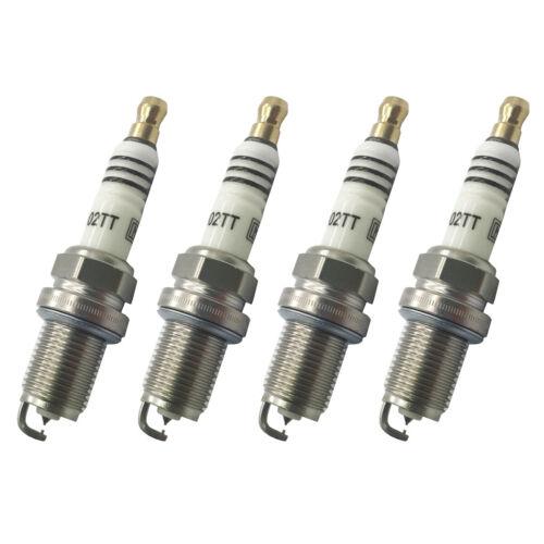 4x Iridium Candele Upgrade si adatta AUDI A3 1.6 Benzina Mk2 2003-2012