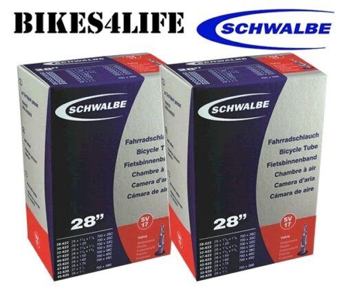 SCHWALBE SV17-700 X 30 BIKE INNER TUBE 40mm PRESTA VALVE QUANTITY RATE OPTION