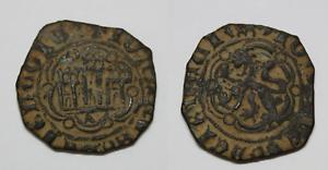 Moneda Blanca de Vellon JUAN II de Castilla  (1406-1454)  Ceca Toledo.  22mm Ø