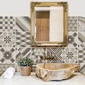 Ps00142 adesivi murali in pvc per piastrelle per bagno e for Adesivi murali per bagno