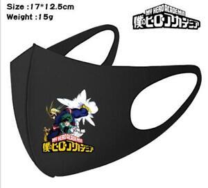My Hero Academia Anime Manga Cosplay Mask Mundschutzmaske Masken Schutzmasken