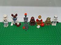 Lego Minifigure Star Wars 2015 Advent Calendar Minifigures Set Of 7 No Box