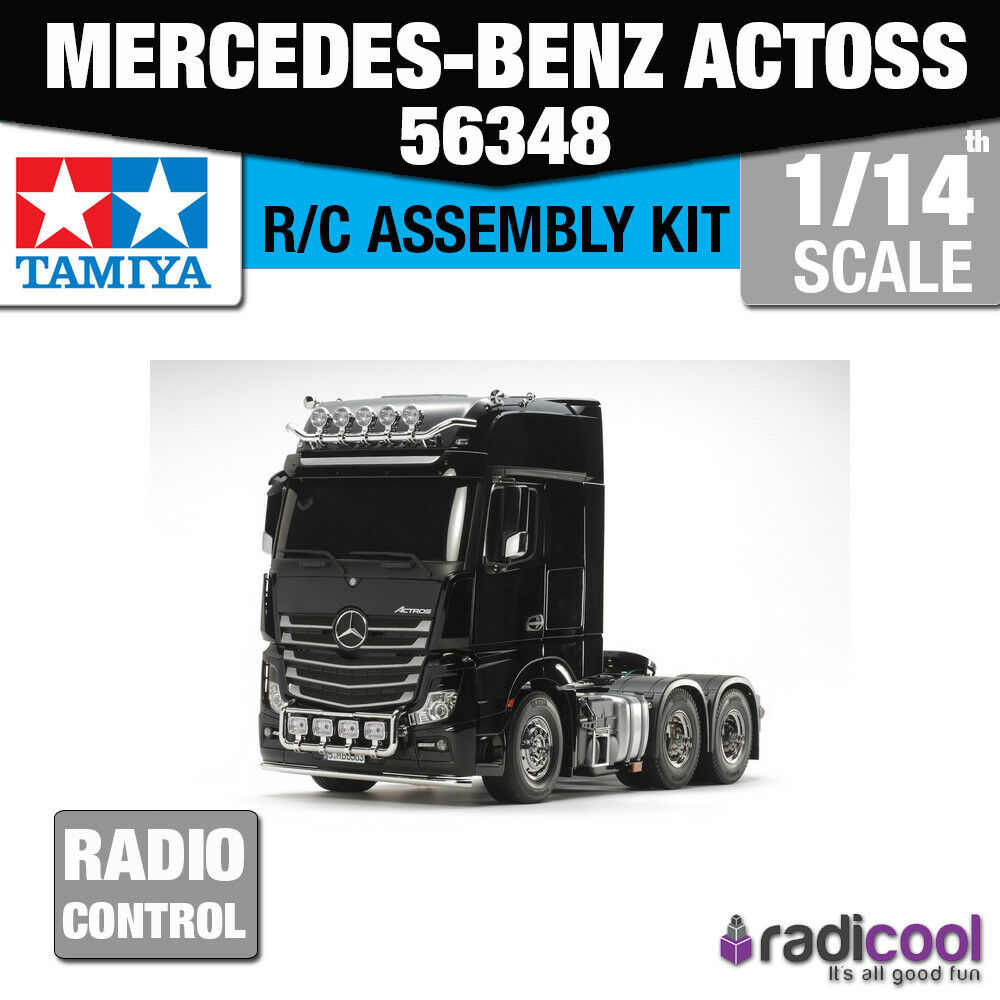 56348 TAMIYA MERCEDES-Benz Camion ACTROS 3363 GIGASPACE 6X4 Kit R/C 1/14th