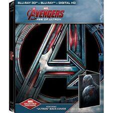 Avengers: Age of Ultron (Blu-ray Disc, Includes Digital Copy 3D Only  Best Buy Ultron SteelBook)