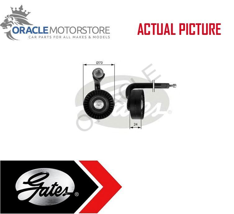 SKODA FABIA 545 1.9D Aux Belt Tensioner 07 to 10 Drive V-Ribbed INA 038903315AB
