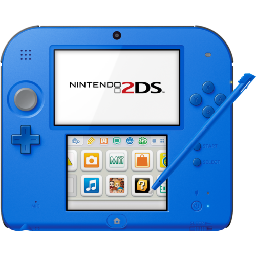 Nintendo 2DS (Crimson Blue 2) - FACTORY REFURBISHED BY NINTENDO
