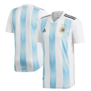 699ef47964d65 Image is loading Adidas-Argentina-National-Team-Youth-Home-Jersey-World-