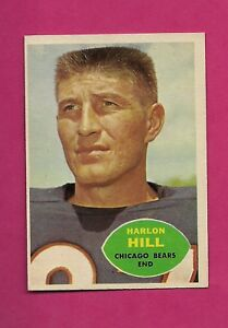 1960-TOPPS-16-BEARS-HARLON-HILL-ERROR-EX-MT-CARD-INV-A4740