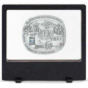 Floating-Display-Frame-3D-Coin-Capsule-Currency-Holder-Stamps-Rocks-Gems-US-Free