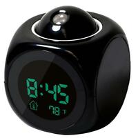 Multi-function Digital Lcd Voice Talking Led Projection Alarm Clock Thermometer