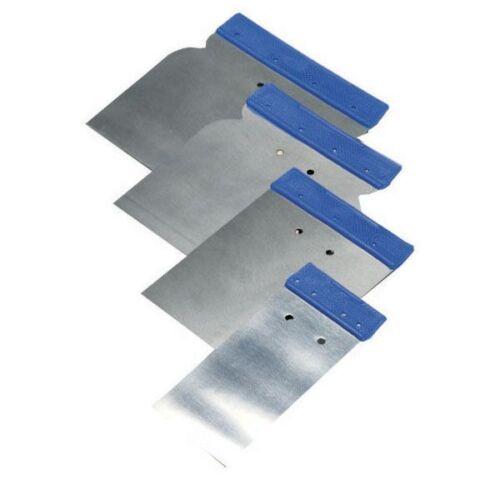 set 4 pezziMarca CecchiCEC-8806 Spatole lisce in metallo