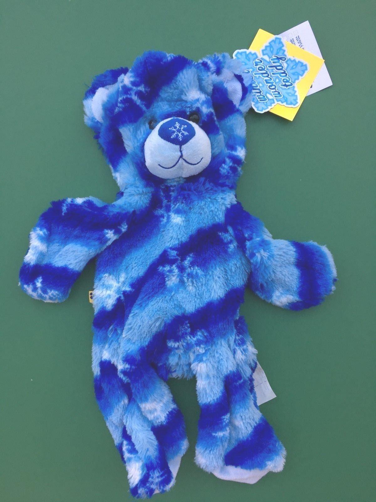 Build a Bear Blau Winter Wonder Teddy Bear Plush Toy - Unstuffed -  NEW