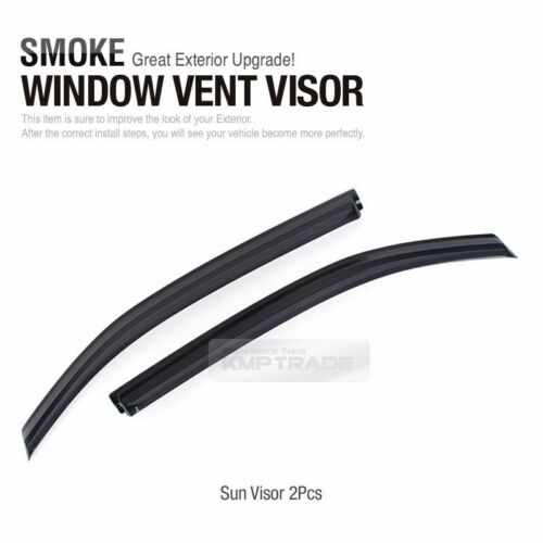 Out-Channel Vent Shade Window Visors Rain Guard K014 For HYUNDAI 2005-06 i800 H1