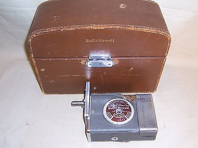 Vintage Bell and Howell 16mm Movie Magazine Camera 200 w case Collectible Decor