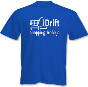 I-Force-shopping-CHARIOTS-Hommes-Droles-T-shirt-DRIFTING