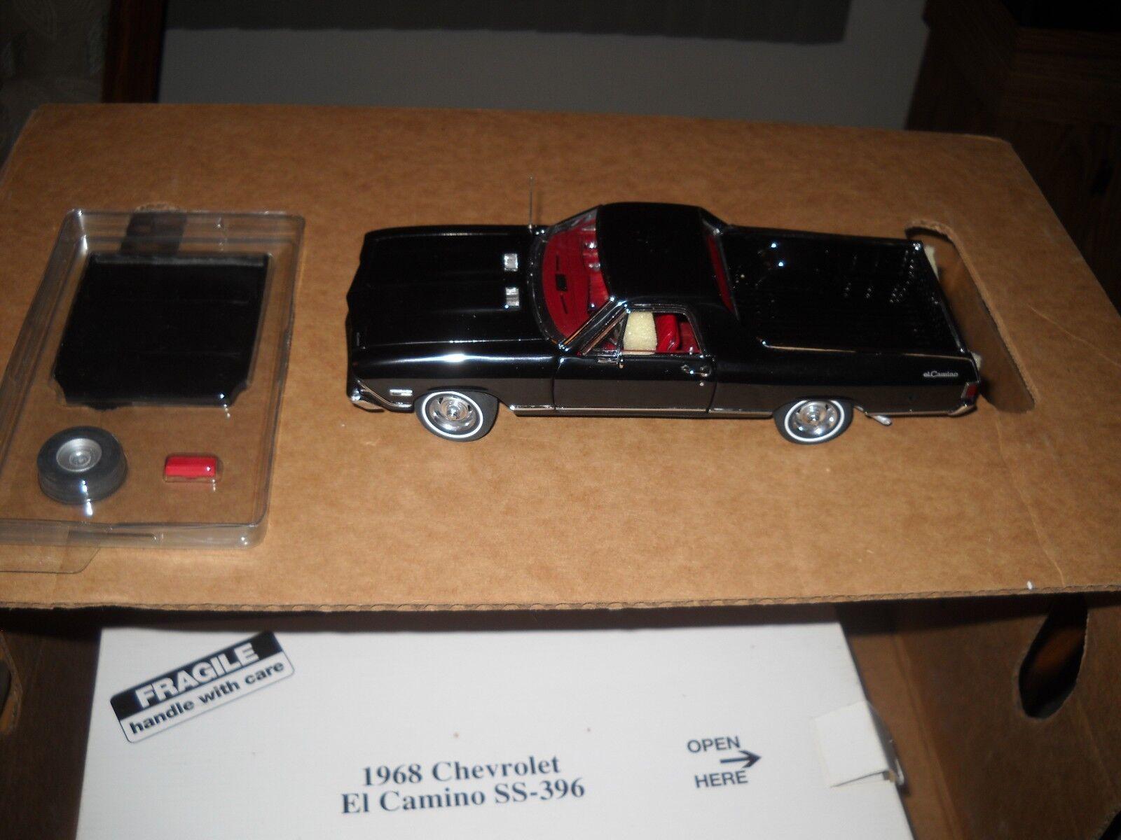 Fábrica de moneda Danbury 1968 Chevrolet el - camino SS - 396 - Relación 1   24 - papel - nuevo vehículo