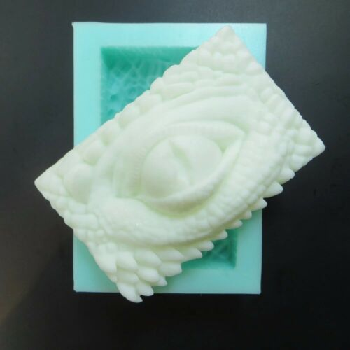 Original Cool Dragon Eye Silicone Soap Mold Craft Handmade Soap Candle Mould DIY