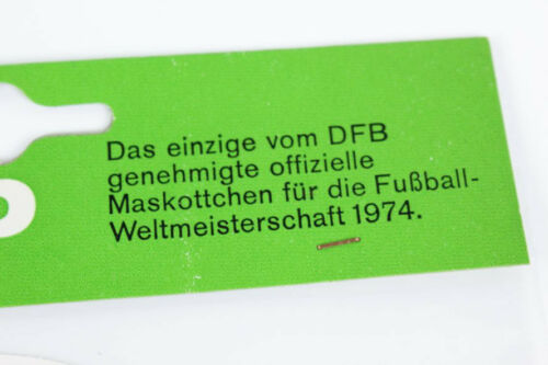 Tip+Tap Sticker Fußball FIFA WM 1974 DFB Lizensierter Original Aufkleber rund #1