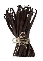 "30 Extract Grade A Gourmet Madagascar Planifolia Bourbon Vanilla Beans 6-7"""