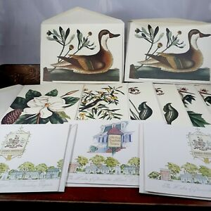 Blank-note-cards-Colonial-Williamsburg-11-Cards-bird-floral-Virginia