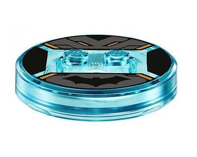 Lego Transparent Light Blue Toy Tag Batman NEW!