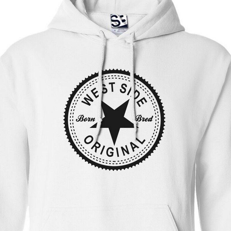 West Side Original Inverse HOODIE - Hooded WestSide Coast Sweatshirt  All Farbes
