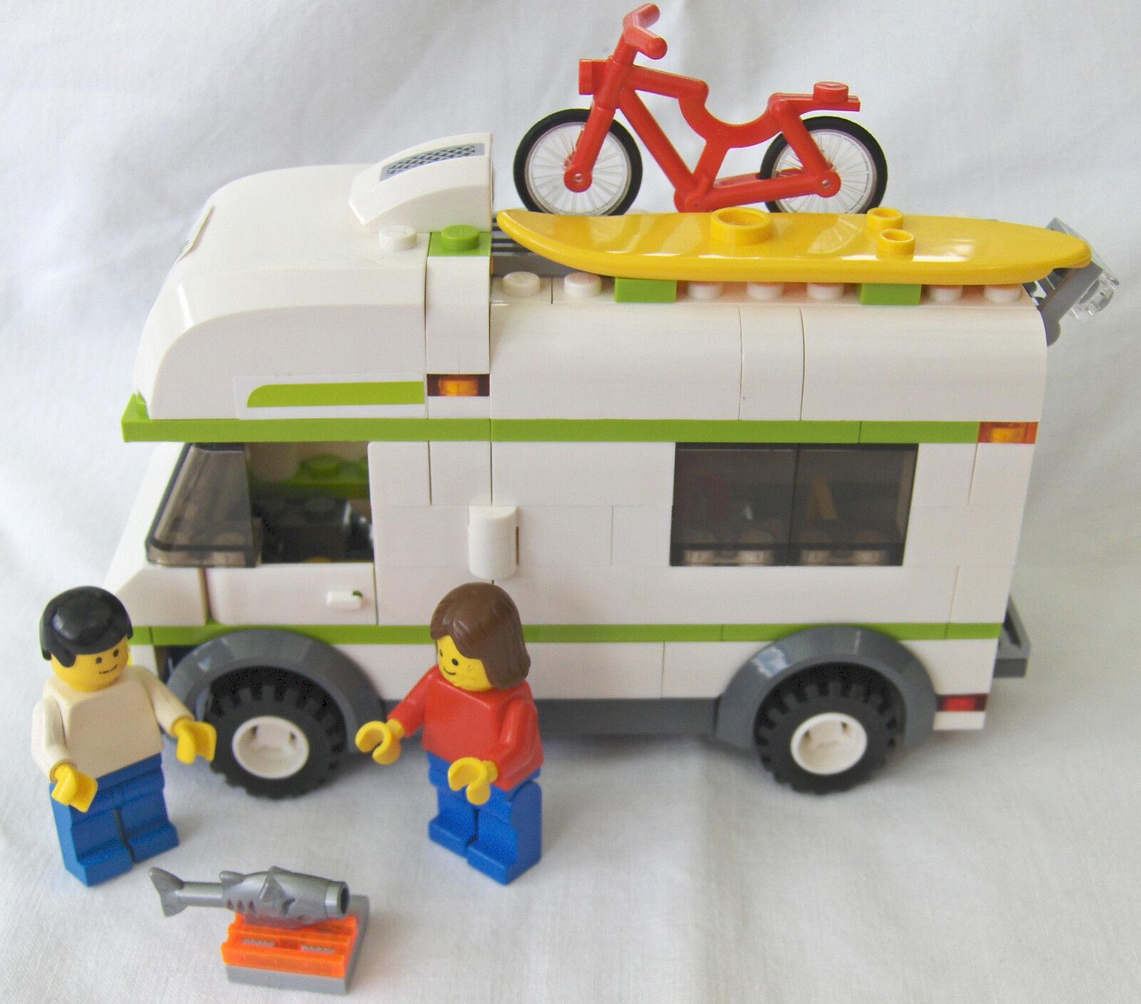 Nvombk2156 SeriesComplete Lego City 7639townamp; Camper Set reQCoWdxB