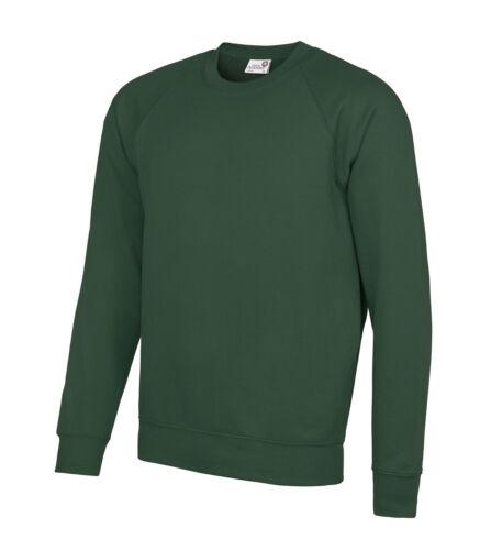 AWDIS Academy Raglan Teens School Uniform Sweatshirt Jumper