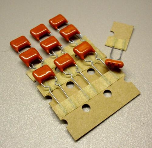 m0647 10 unidades de 220 nf//63 V cerámica condensadores
