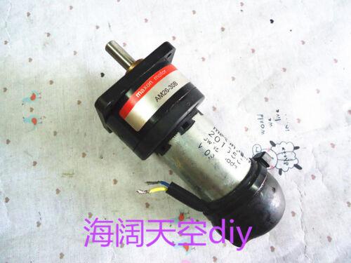 360RPM Hollow Cup Reducer #J05 lx Swiss Maxon DC Motor AM26-30B 201656 24V