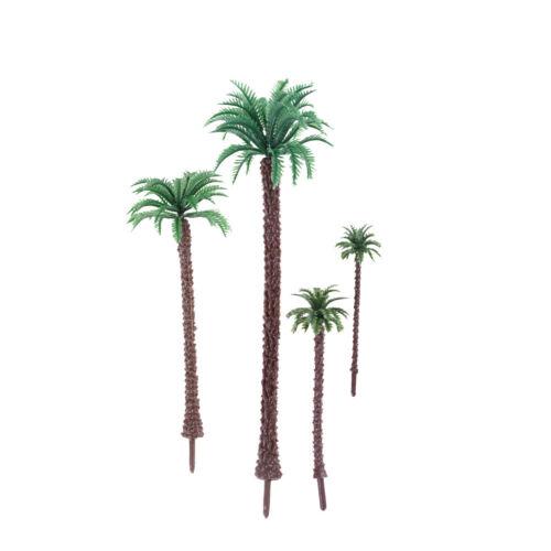 10X Multi Gauge Model Coconut Palm Trees HO O N Z Scale Scenery FG