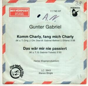 "7"" Single: Gunter Gabriel - Komm Charly, fang mich Charly - Münster, Deutschland - 7"" Single: Gunter Gabriel - Komm Charly, fang mich Charly - Münster, Deutschland"